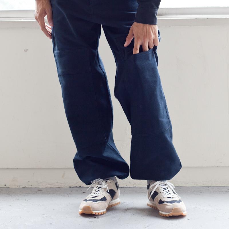 tuki,ツキ,double knee pants,ダブルニーパンツ